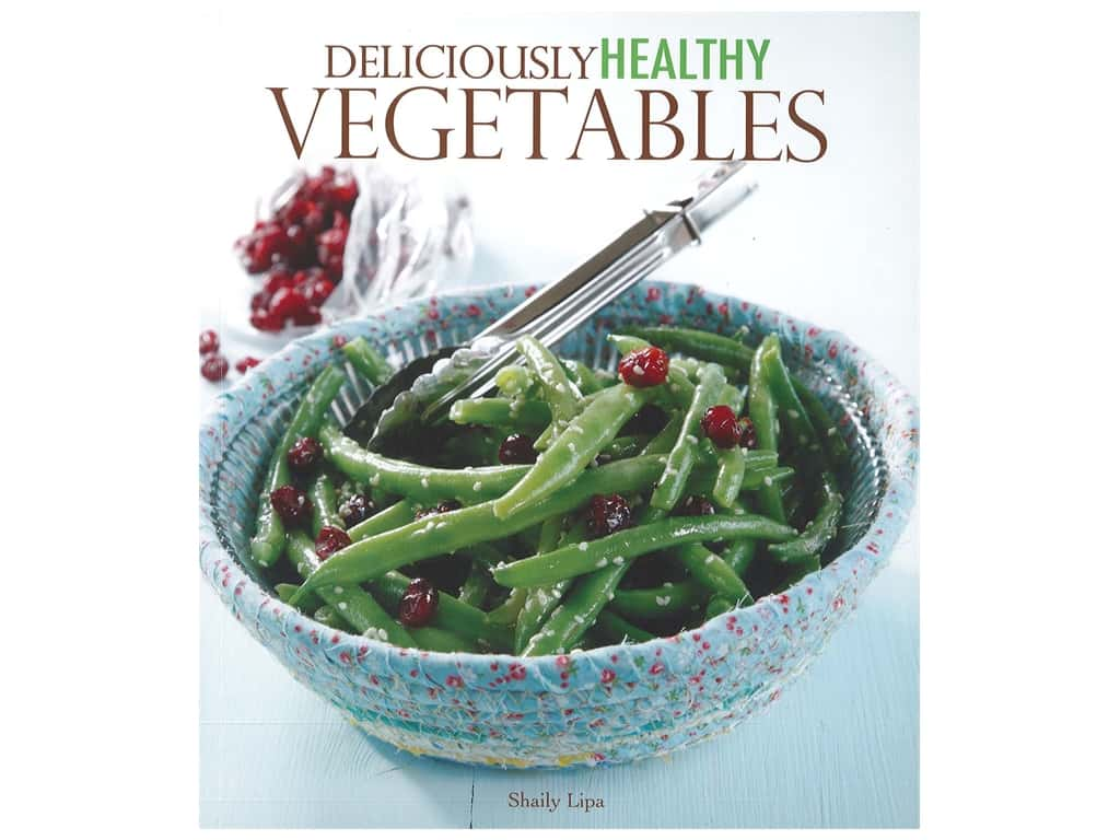 Leisure Arts Deliciously Healthy Vegetables Book