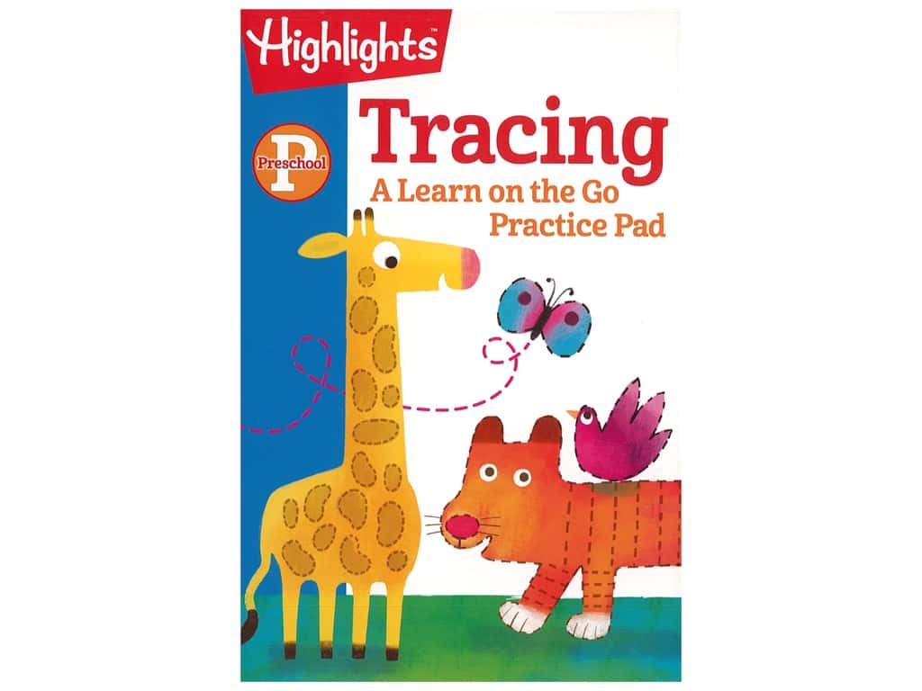Highlights Preschool Tracing Book