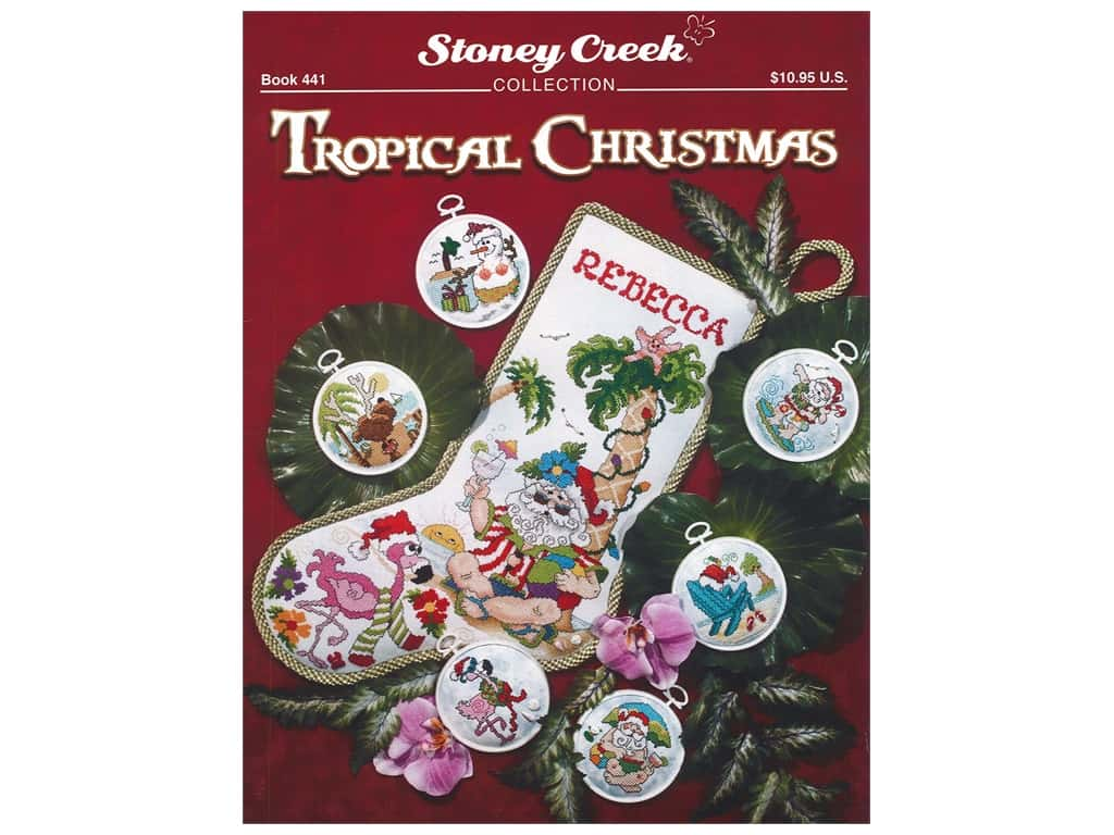 Stoney Creek Tropical Christmas Cross Stitch Book