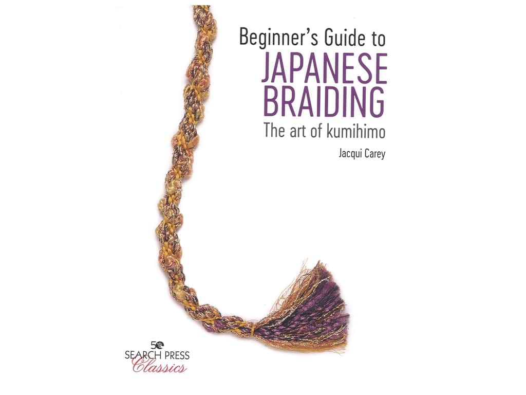 Search Press Beginner's Guide to Japanese Braiding Book