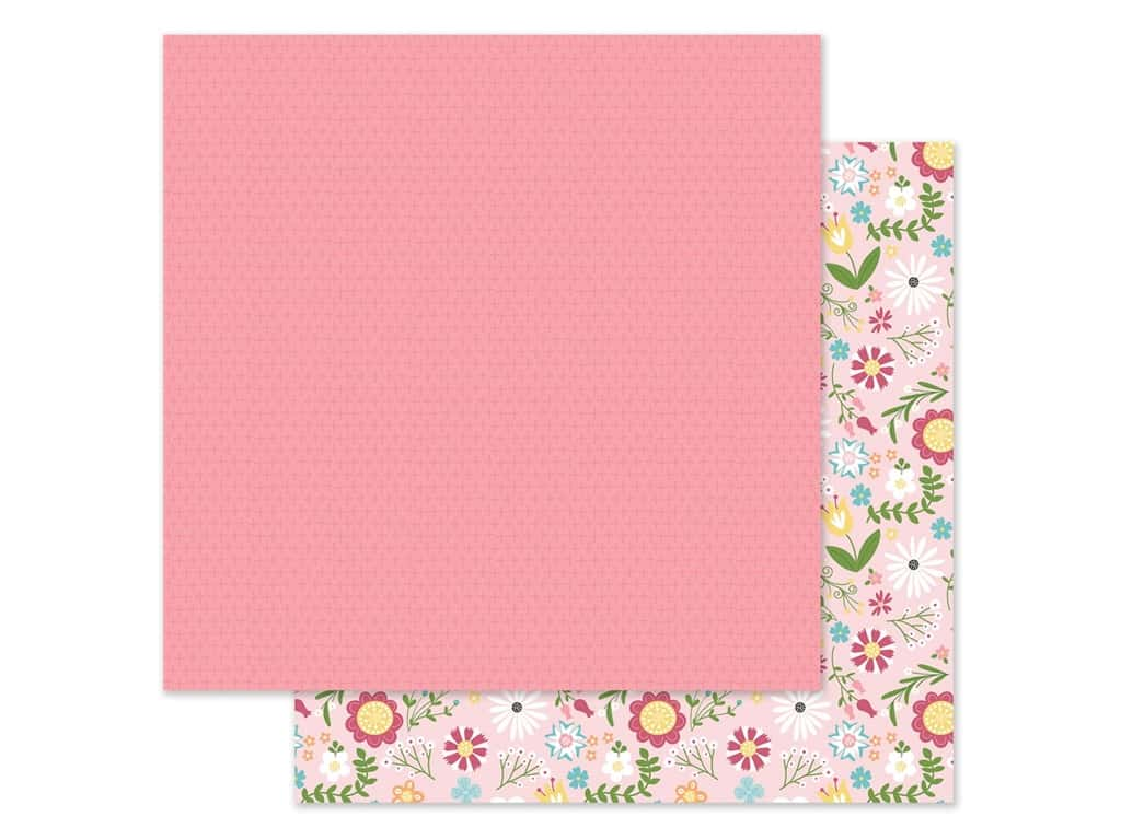 Echo Park Collection All Girl Paper 12 in. x 12 in. Floral (25 pieces)