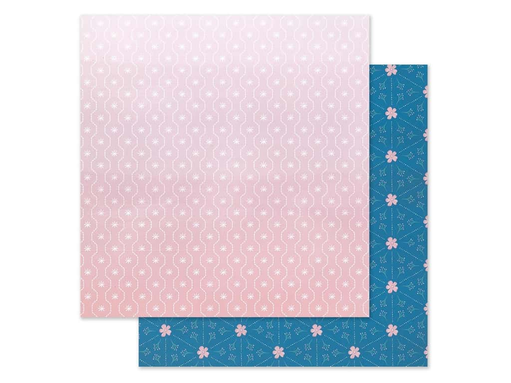 "Pink Paislee Collection Paige Evans Truly Grateful Paper 12""x 12"" Paper 18 (25 pieces)"