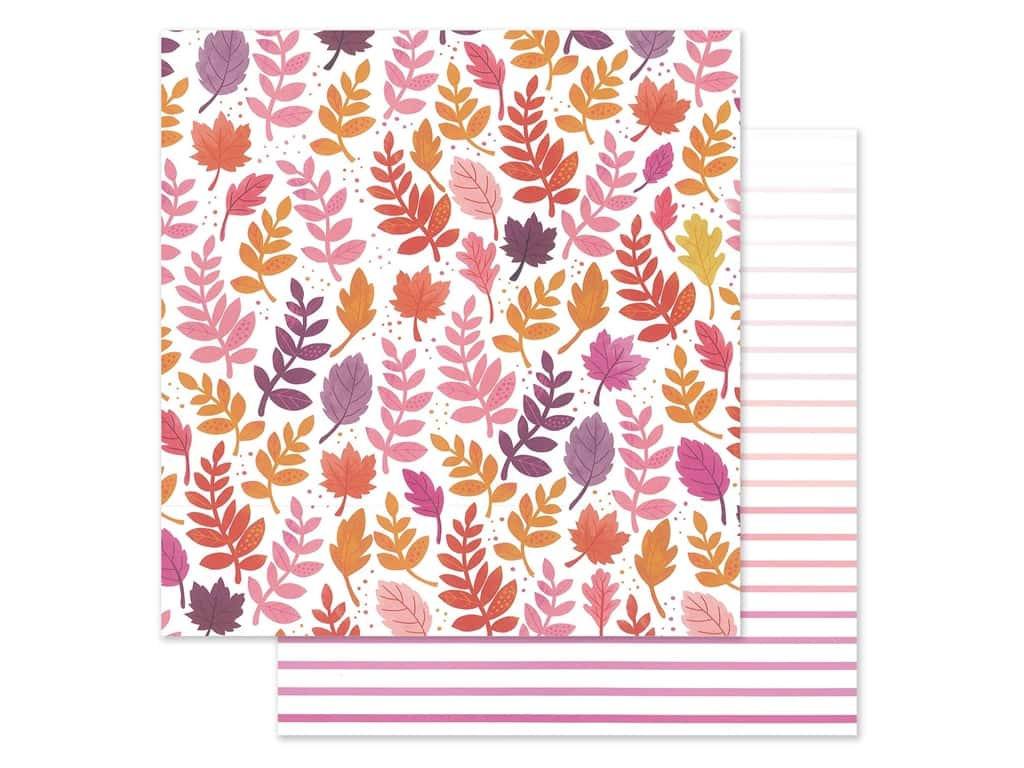 "Pink Paislee Collection Paige Evans Truly Grateful Paper 12""x 12"" Paper 23 (25 pieces)"