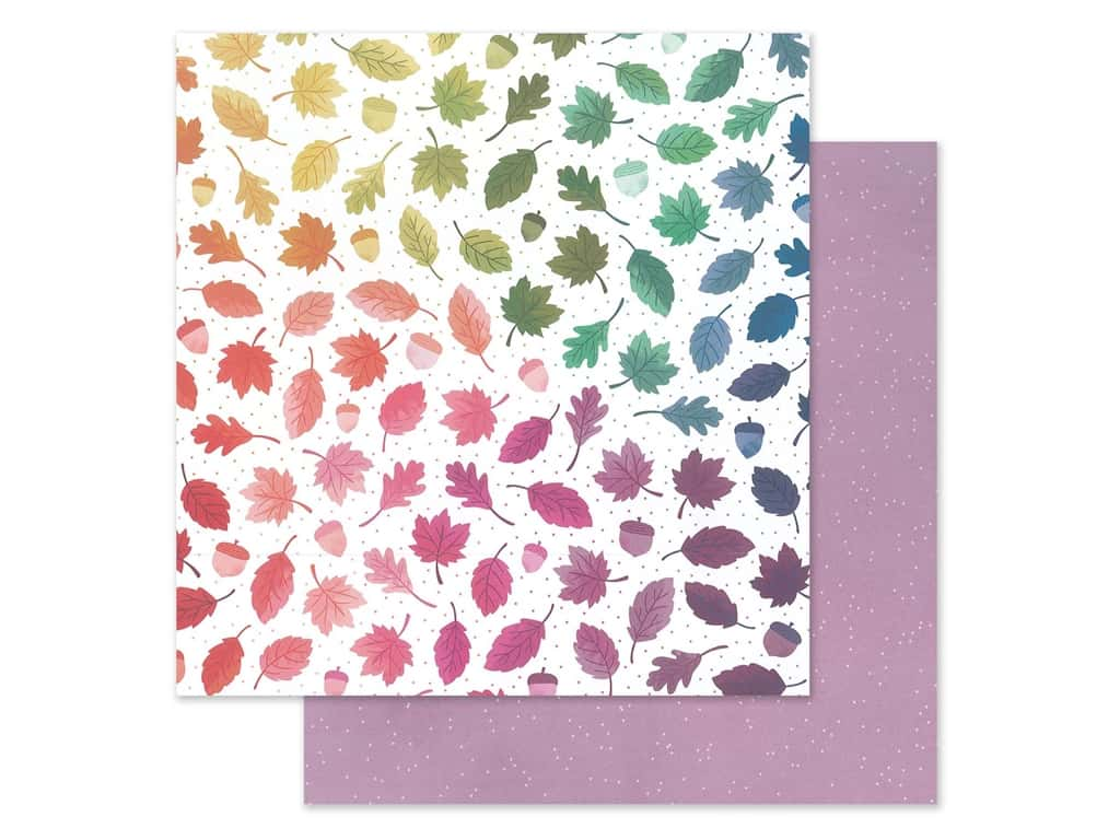 """Pink Paislee Collection Paige Evans Truly Grateful Paper 12""""x 12"""" Paper 10 (25 pieces)"""