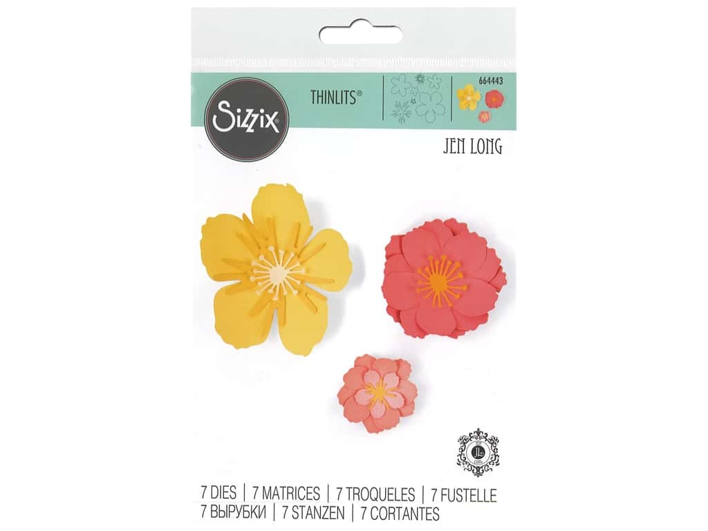 Sizzix Dies Thinlits Floral Blossom
