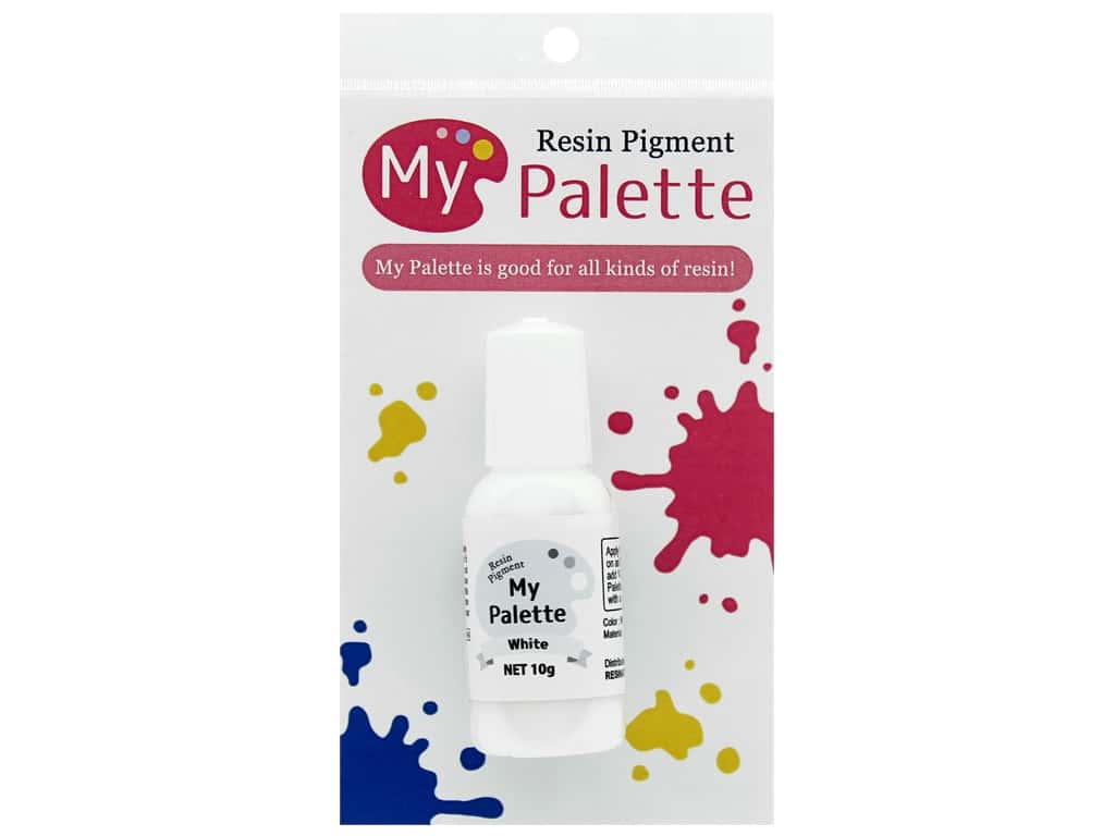 Resinate Accessories My Palette Pigment Ink White