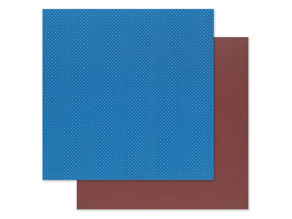 "Photo Play Collection Another Day At The Park Paper 12""x 12"" Solids Plus Dark Blue/Dark Red (25 pieces)"