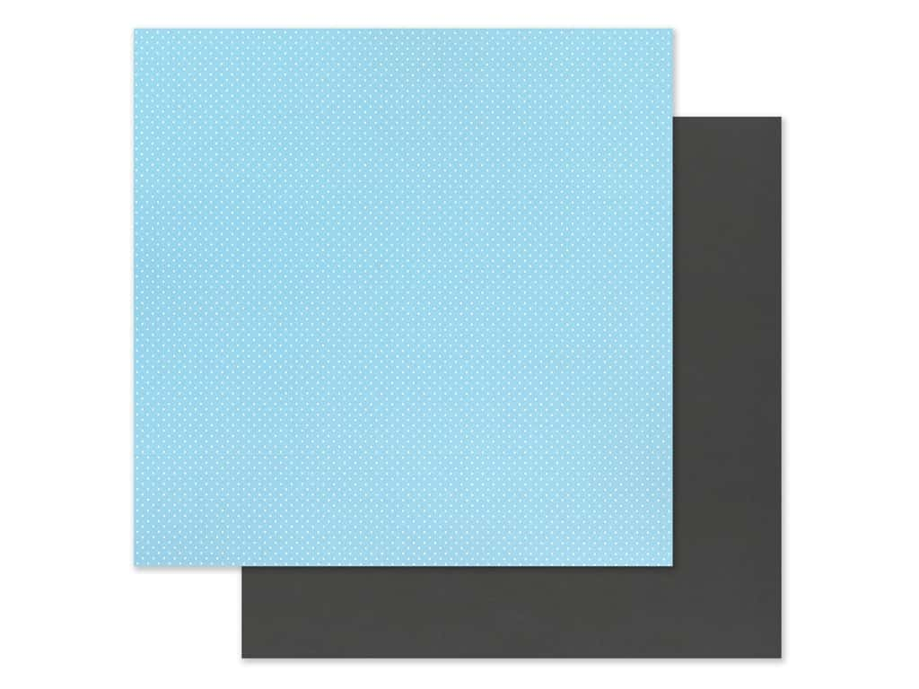 "Photo Play Collection Another Day At The Park Paper 12""x 12"" Solids Plus Light Blue/Black (25 pieces)"