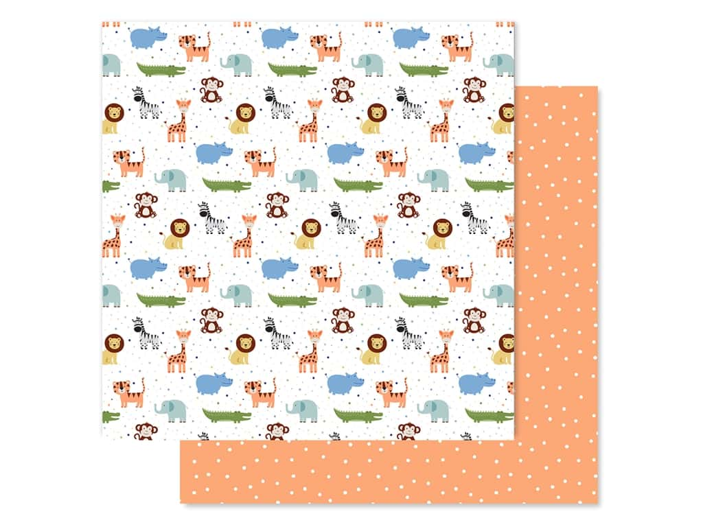 "Echo Park Collection Baby Boy Paper 12""x 12"" Bundle Of Joy (25 pieces)"