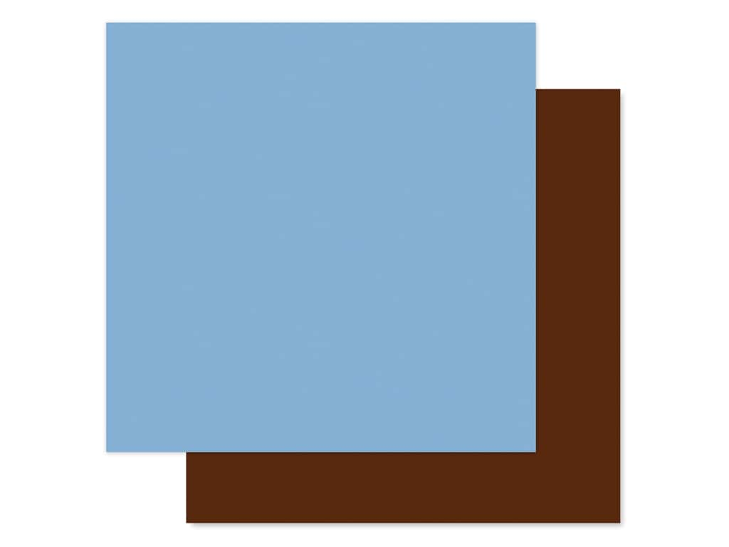 """Echo Park Collection Baby Boy Paper 12""""x 12"""" Light Blue/Brown (25 pieces)"""