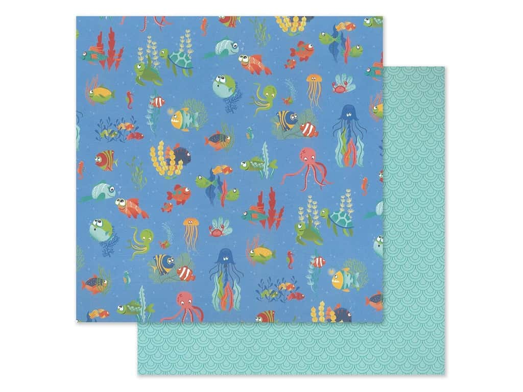 "Photo Play Collection Fish Tales Paper 12""x 12"" Under The Sea (25 pieces)"