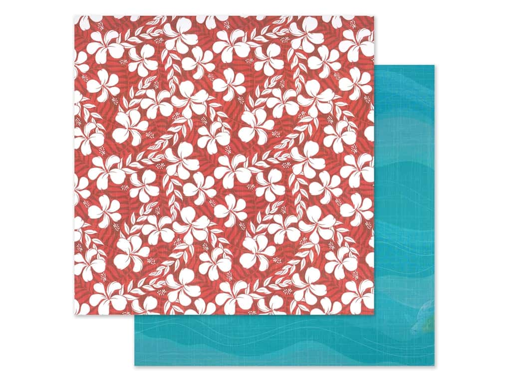 "Photo Play Collection Aloha Paper 12""x 12"" Salty Ocean (25 pieces)"