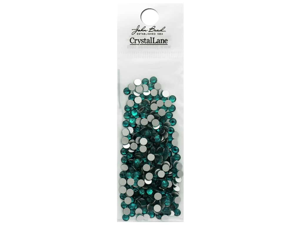 John Bead Crystal Lane Flat Back Rhinestone 4 mm Blue Zircon 288 pc.