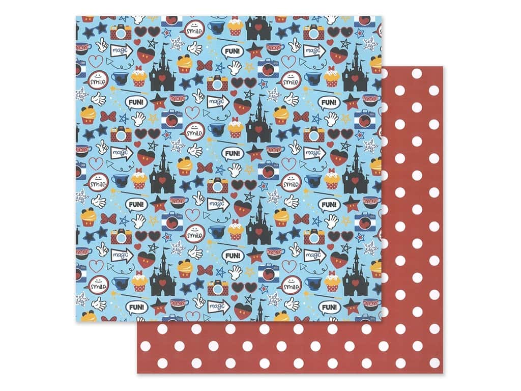 """Photo Play Collection Another Day At The Park Paper 12""""x 12"""" Mouse House (25 pieces)"""