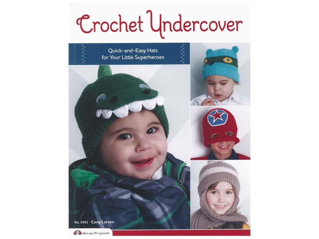 Design Originals Crochet Undercover Book