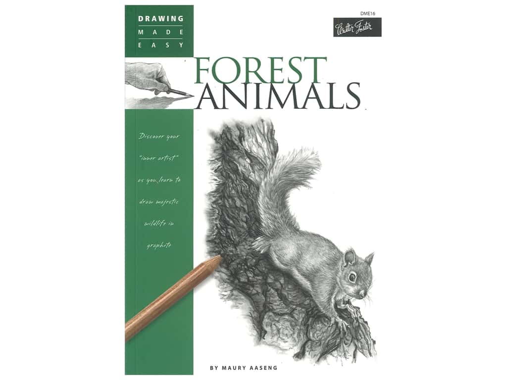Walter Foster Drawing Made Easier Forest Animals Book