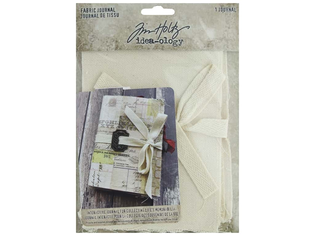 Tim Holtz Idea-ology Fabric Journal
