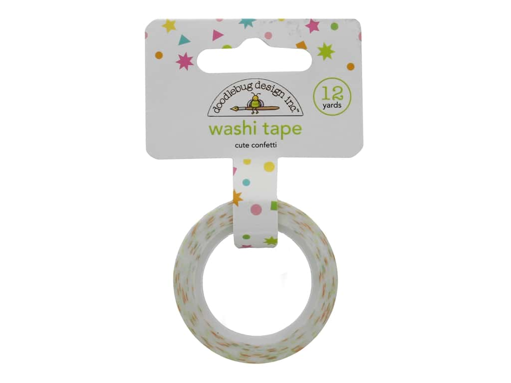 Doodlebug Collection Hey Cupcake Washi Tape Cute Confetti