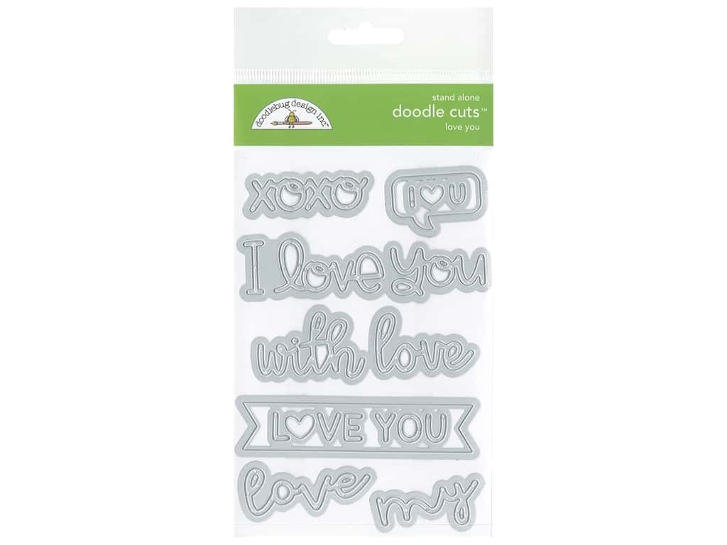 Doodlebug All Occasion Doodle Cuts Die Love You