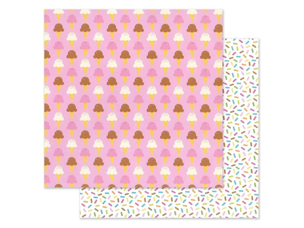 "Doodlebug Collection Hey Cupcake Paper 12""x 12"" Sugar Cone (25 pieces)"