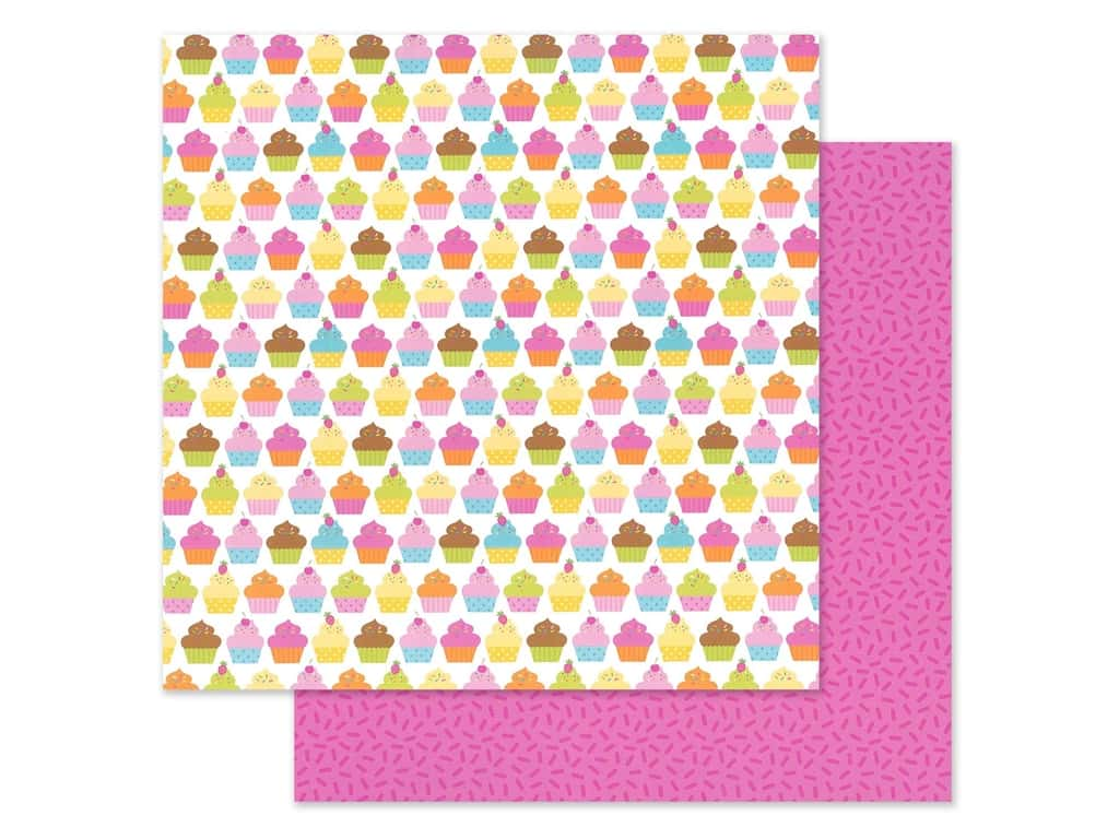 "Doodlebug Collection Hey Cupcake Paper 12""x 12"" Hey Cupcake (25 pieces)"