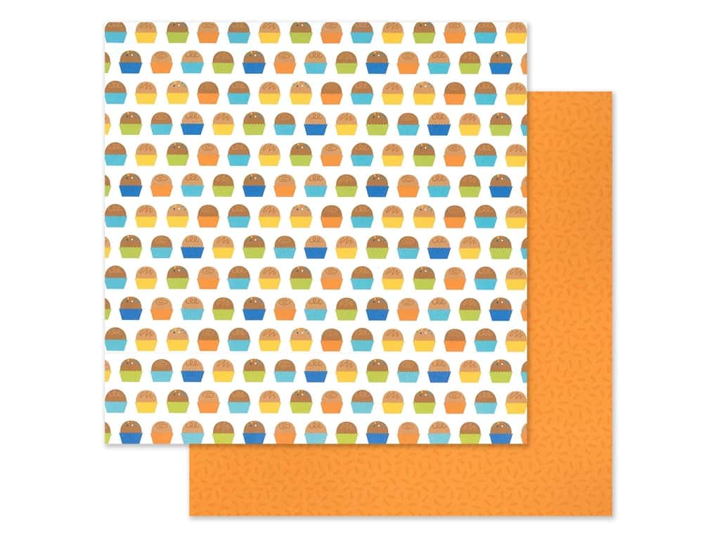 "Doodlebug Party Time Paper 12""x 12"" Birthday Bon Bons (25 pieces)"