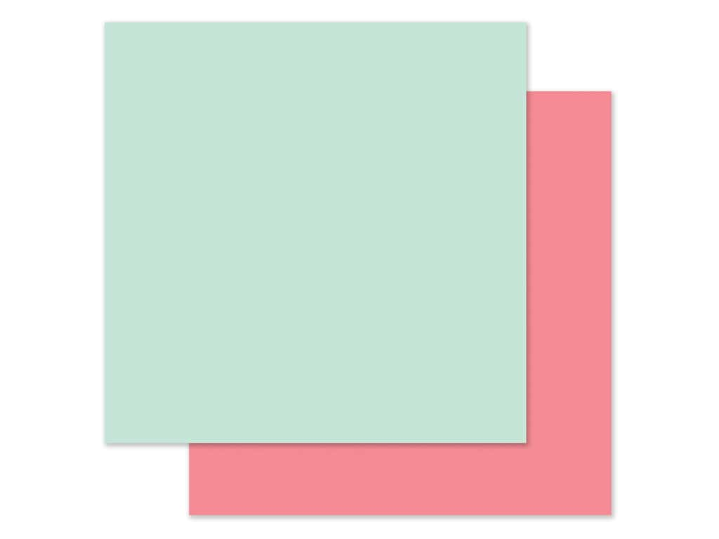 "Carta Bella Collection Flora #3 Paper 12""x 12"" Blue/Pink (25 pieces)"