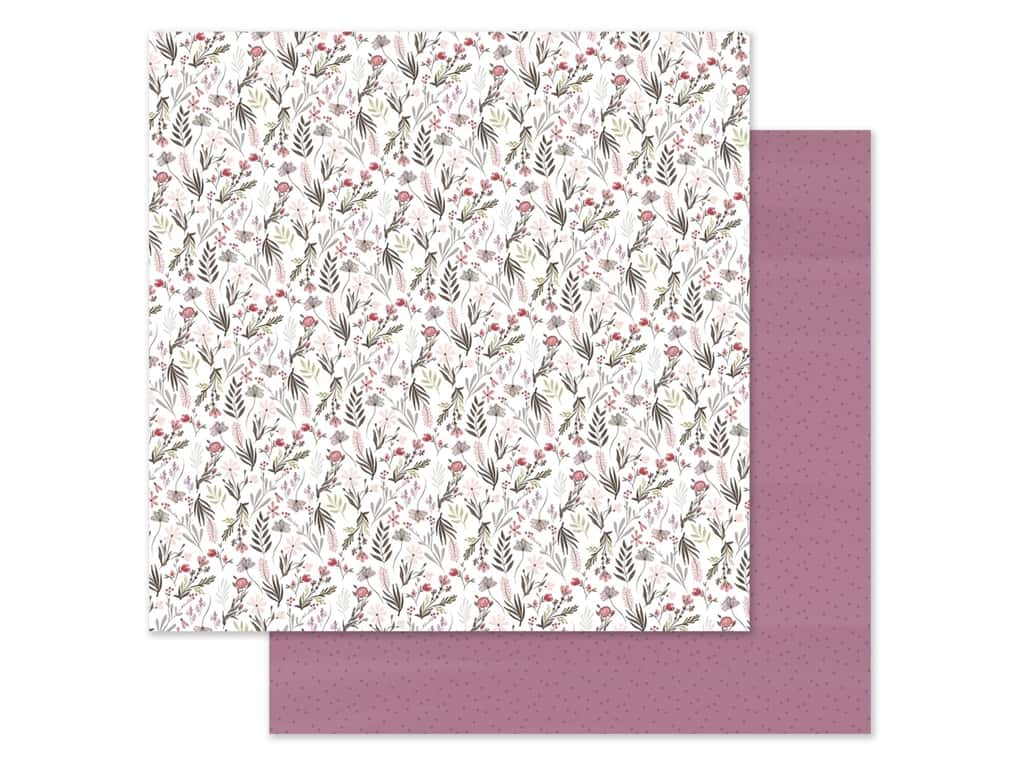 "Carta Bella Collection Flora #3 Paper 12""x 12"" Elegant Small Floral (25 pieces)"