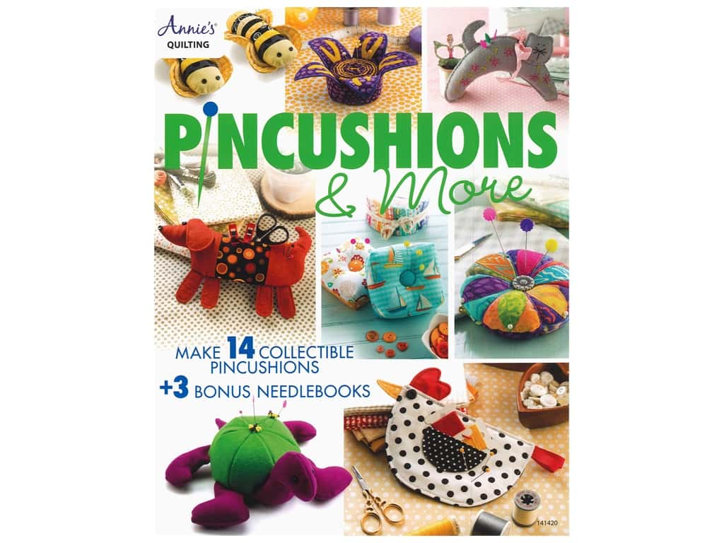 Annie's Pincushions & More Book
