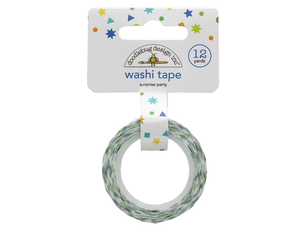 Doodlebug Party Time Washi Tape Surprise Party