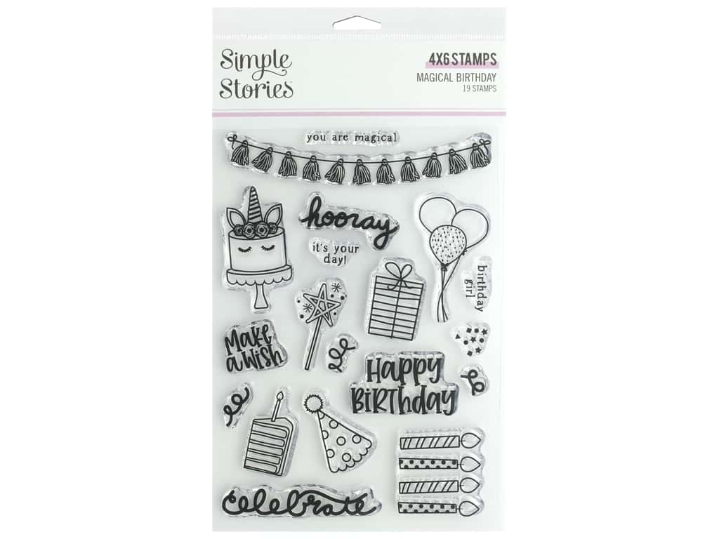 Simple Stories Magical Birthday Stamps