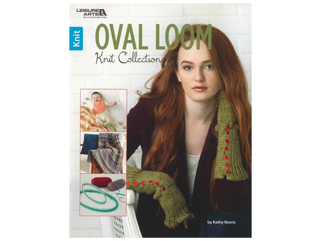 Leisure Arts Oval Loom Knit Collection Book