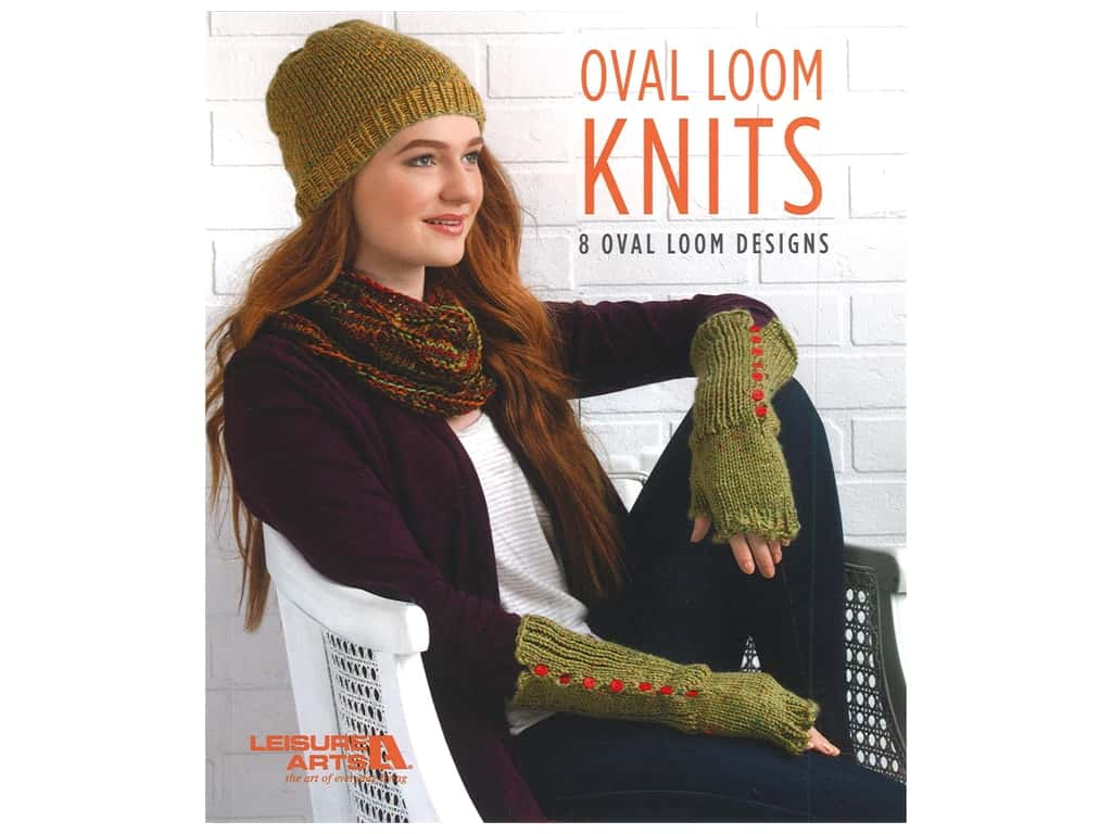 Leisure Arts Oval Loom Knits Book