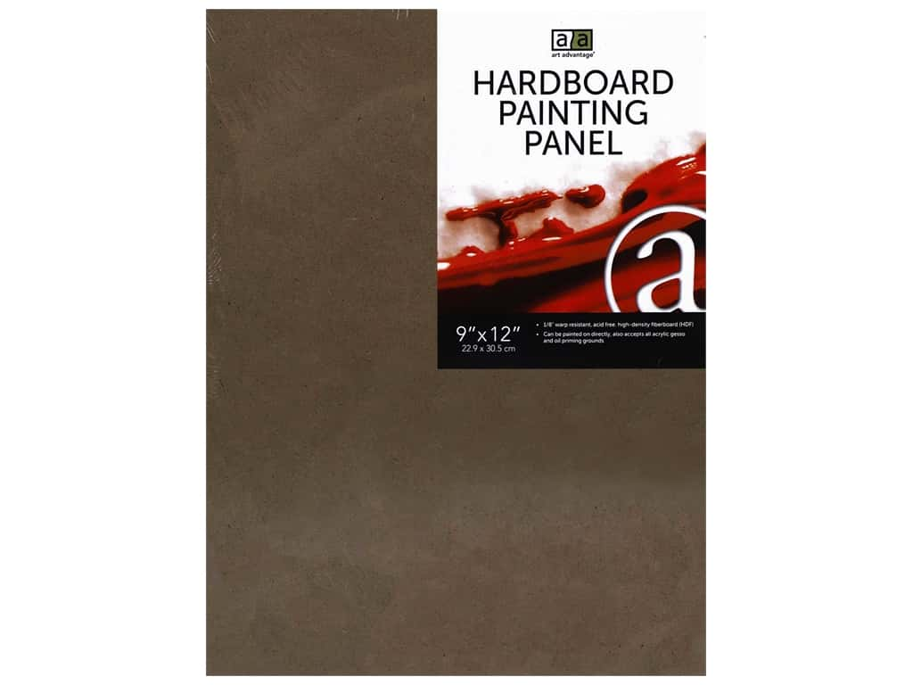 Art Advantage Hardboard Paint ng Panel 9 in. x 12 in.