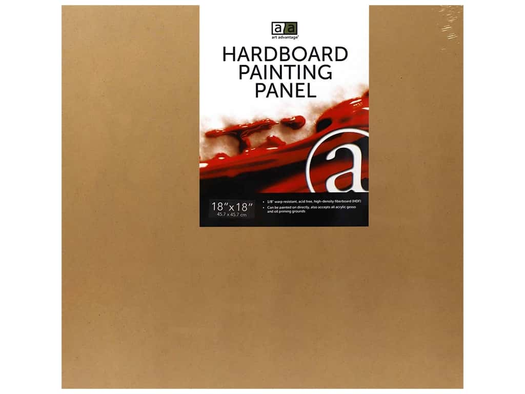 Art Advantage Hardboard Painting Panel 18 in. x 18 in.