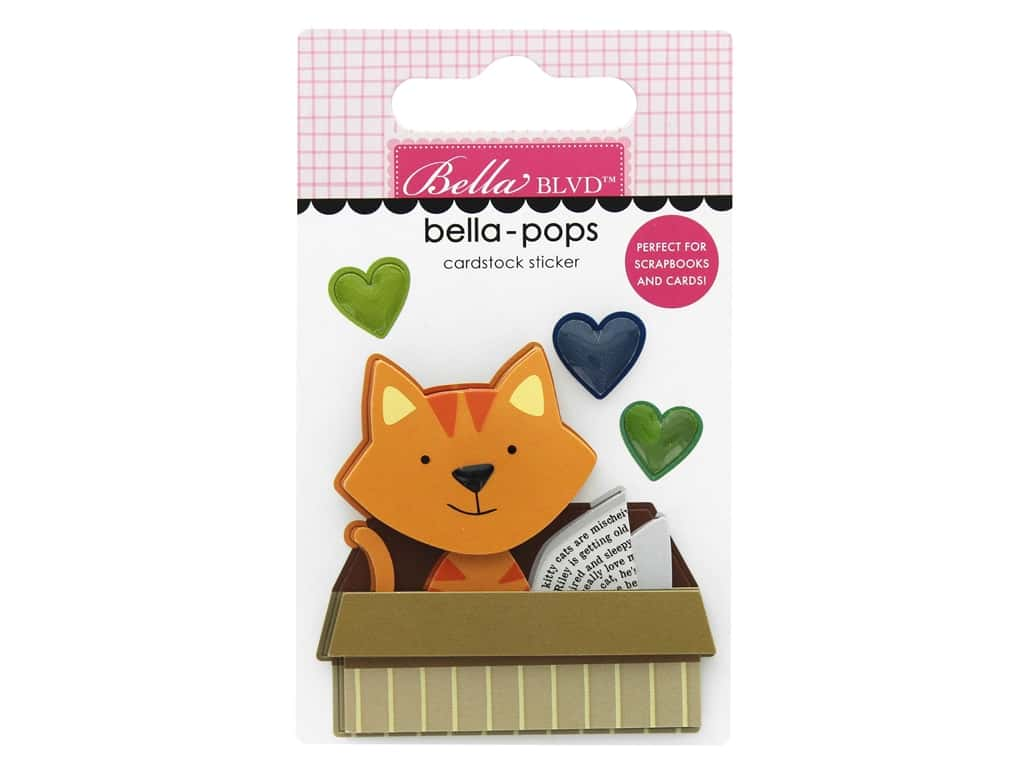 Bella Blvd Collection Chloe Bella Pops Cat In A Box