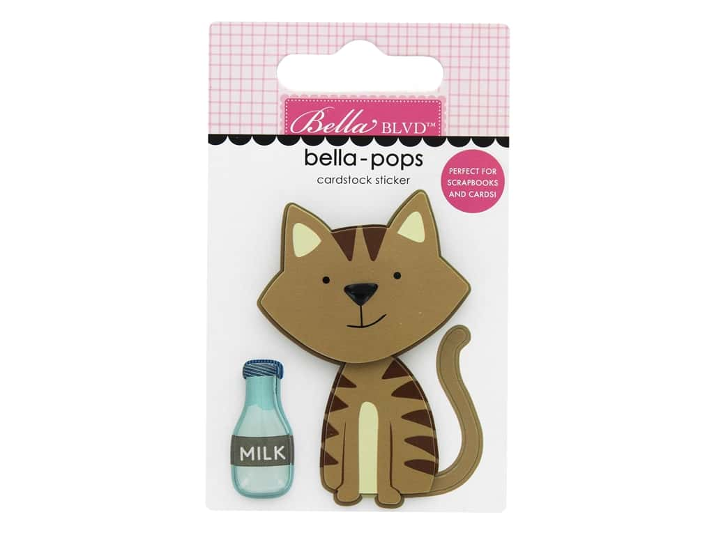 Bella Blvd Collection Chloe Bella Pops Tabby Cat