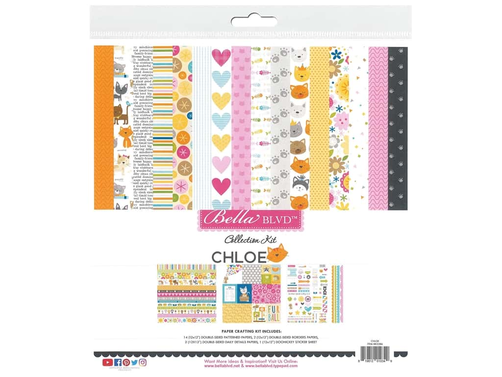 """Bella Blvd Collection Chloe Collection Kit 12""""x 12"""""""
