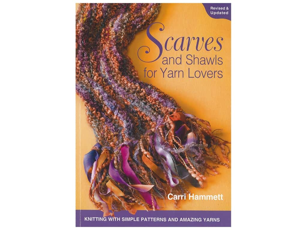 Leisure Arts Scarves Shawls For Yarn Lovers Knit Book