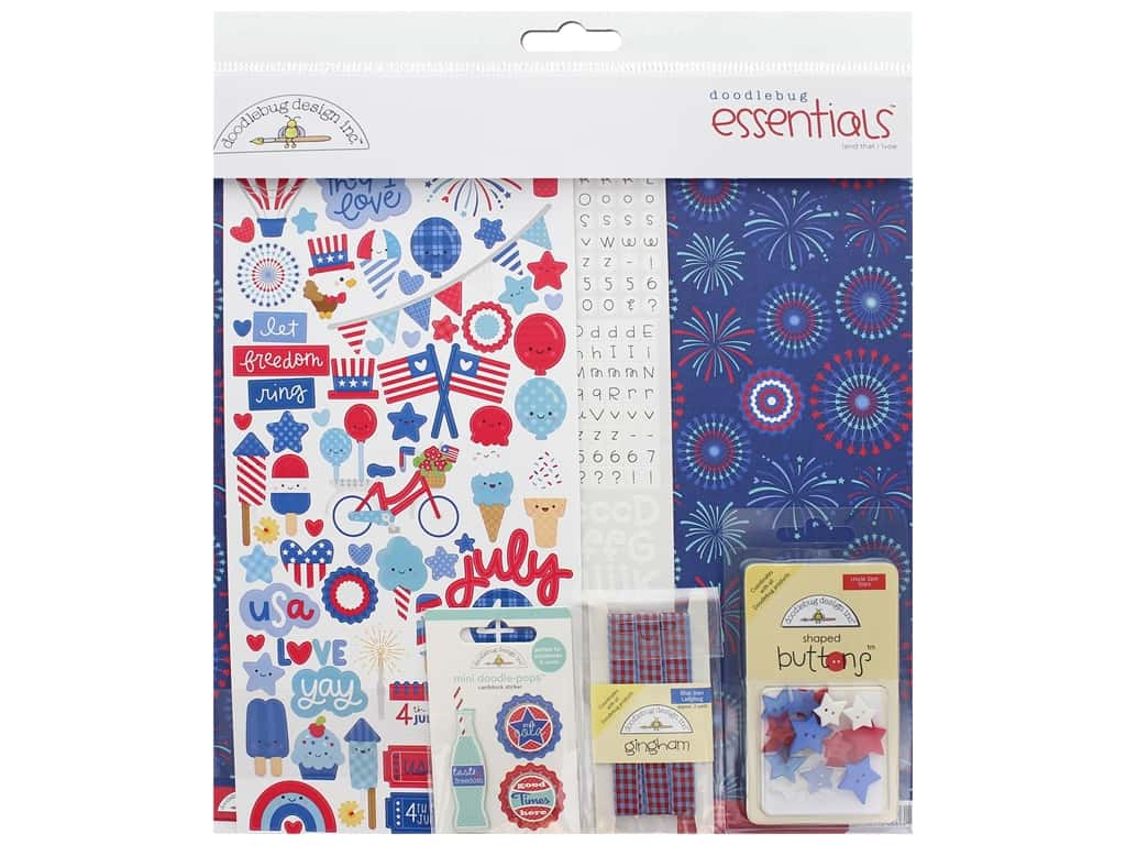 Doodlebug Land That I Love Essentials Kit