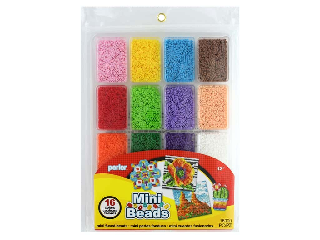 Perler Fused Bead Large Tray Mini Bead Summer