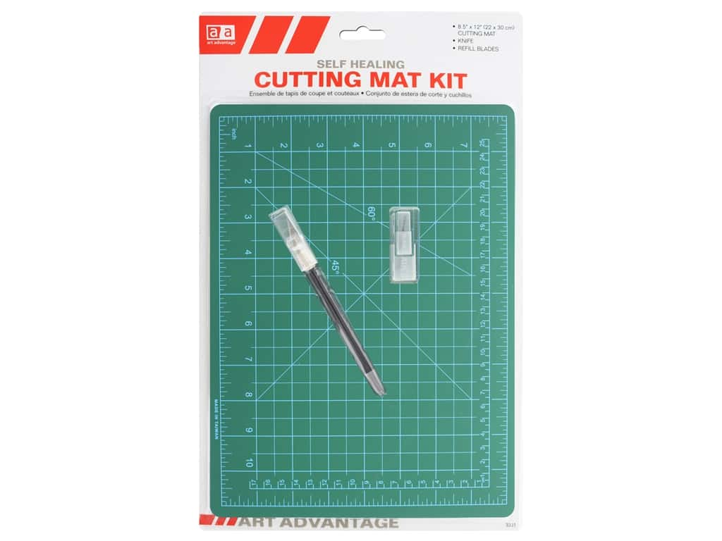 "Art Advantage Cutting Mat Kit 8.5""x 12"""