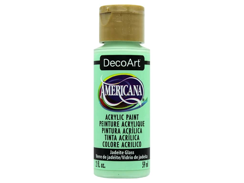 DecoArt Americana Acrylic Paint 2oz Jadeite Glass