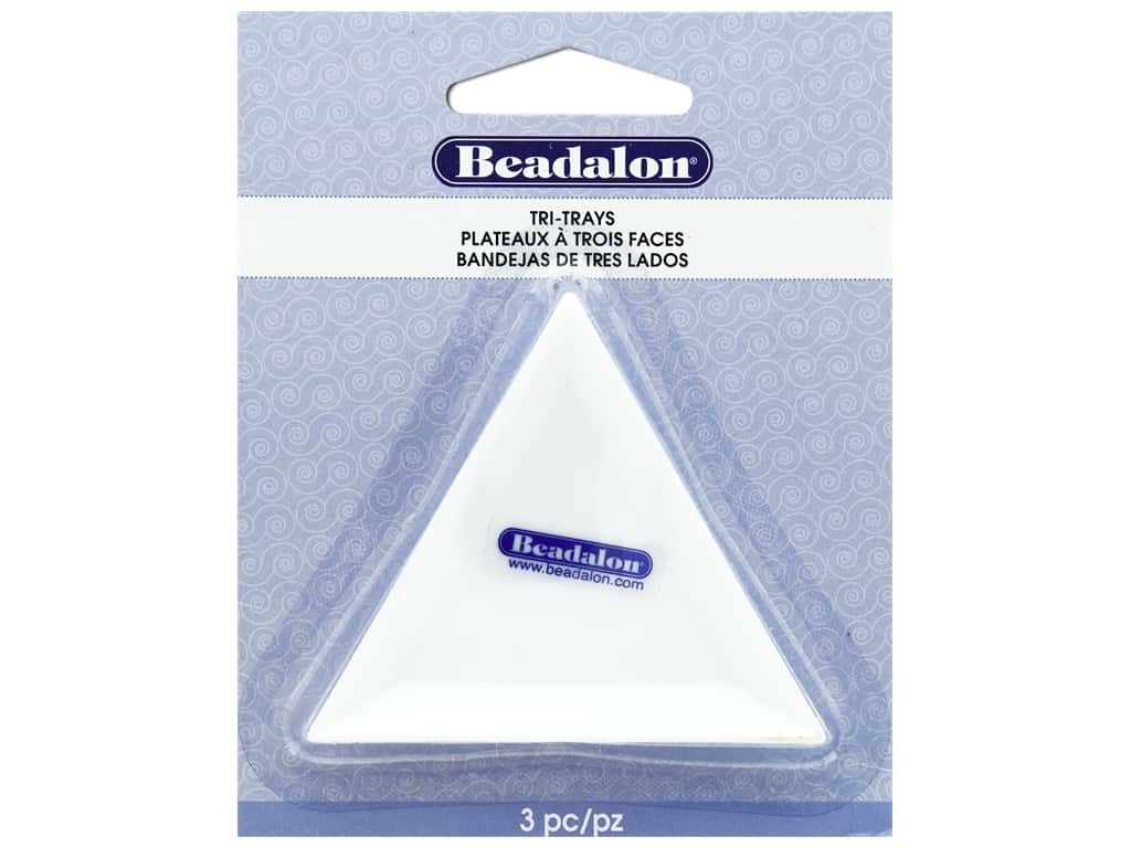Beadalon Tri-Trays 3 pc.