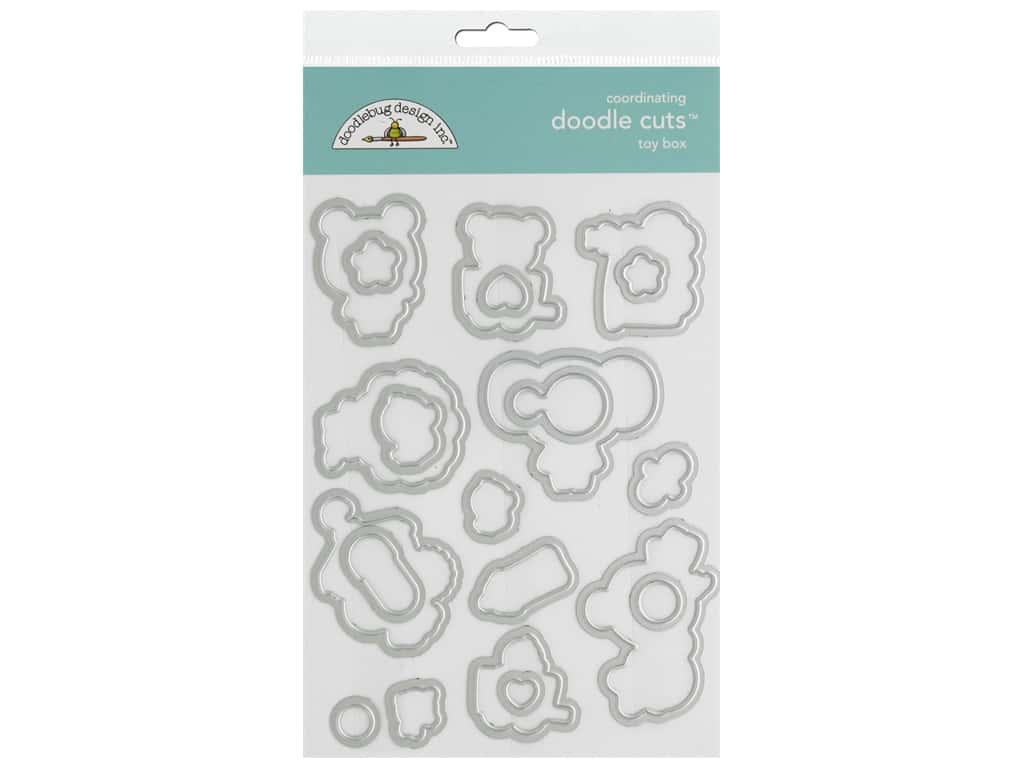 Doodlebug Collection Special Delivery Doodle Cuts Die Toy Box