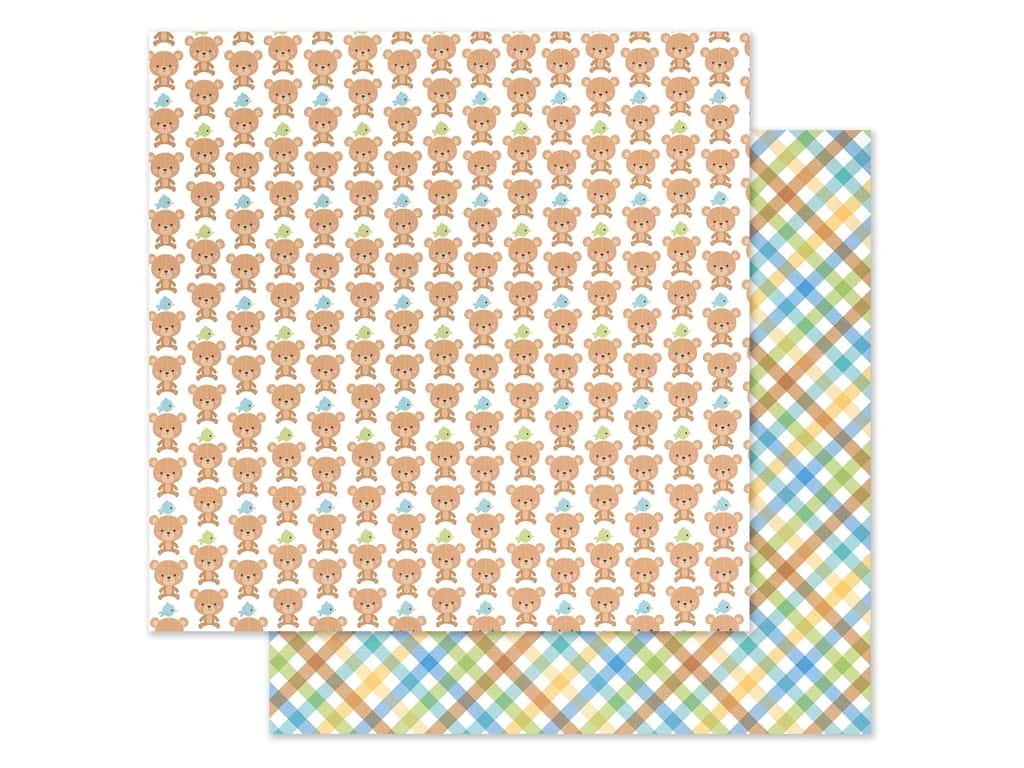 """Doodlebug Collection Special Delivery Paper 12""""x 12"""" Nap Time (25 pieces)"""