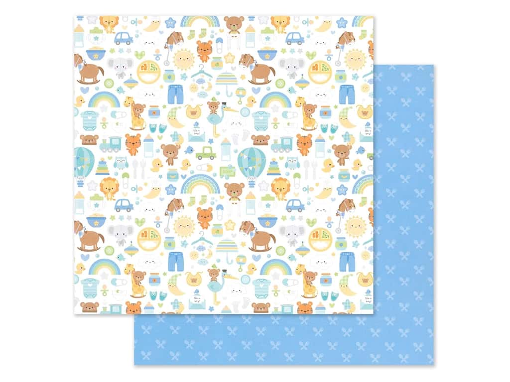 "Doodlebug Collection Special Delivery Paper 12""x 12"" (25 pieces)"