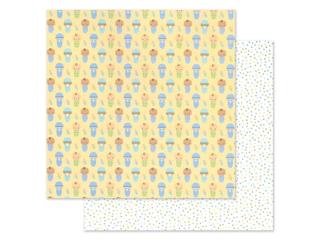 "Doodlebug Collection Special Delivery Paper 12""x 12"" Bundled Up (25 pieces)"
