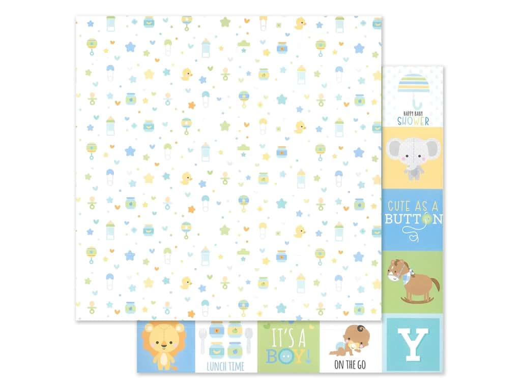"""Doodlebug Collection Special Delivery Paper 12""""x 12"""" Little One (25 pieces)"""