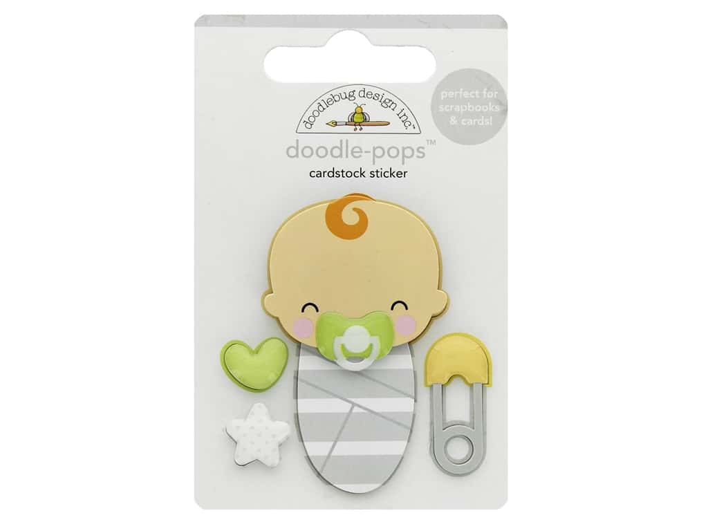 Doodlebug Collection Special Delivery Doodle Pops Sweet Dreams